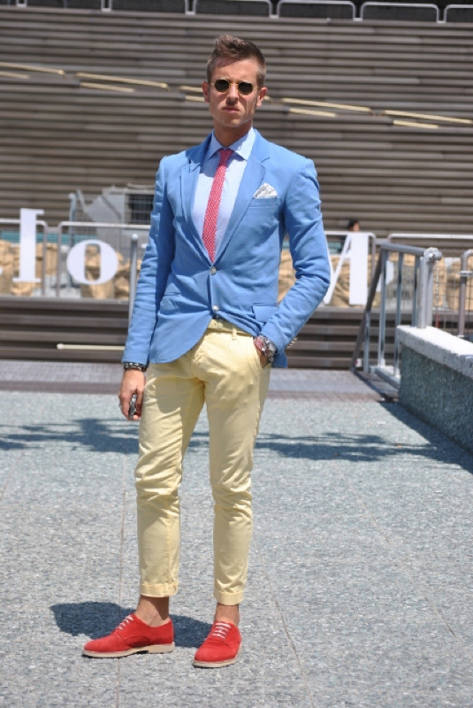 Summertime Fine ~ Summer 2012 Men Suit Trends - Fashiondiva In The ...
